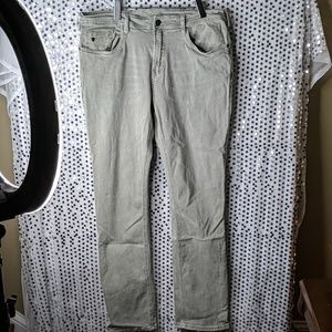 Buffalo jeans in light greenish grey size 36 x 34